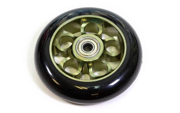 Колесо для трюкового самоката 100мм  зелёное